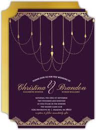 purple and gold wedding invitations custom wedding invitations personalized wedding invites and