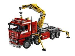 amazon com lego technic crane truck 8258 toys u0026 games