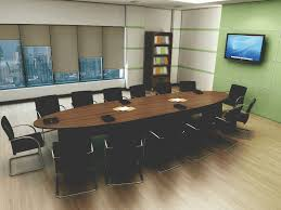 Large Oval Boardroom Table Meeting Room Conference Furniture Weaver Bomfords