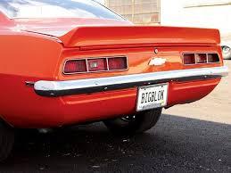 1969 camaro tail lights 1969 chevy camaro big block powered first gen super chevy magazine