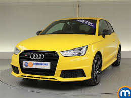 audi a1 s1 used or nearly audi a1 s1 tfsi quattro competition 3dr yellow