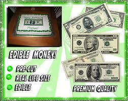 edible money money edible cake images sugar birthday bills paper ideas paper