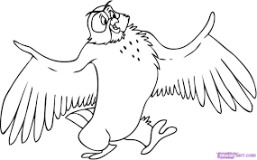 winnie pooh owl coloring pages winnie the pooh characters photo