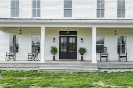 farm house porches a modern farmhouse for sale in indiana
