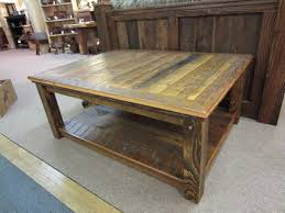 Distressed Wood End Table Coffee Table Weathered Coffee Table Rustic Reclaimed Wood