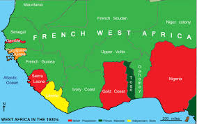 Colonial Africa Map by French West Africa Weapons And Warfare