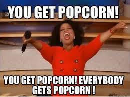 Pop Corn Meme - tuesday free popcorn bring your own bowl paragould cinema 8