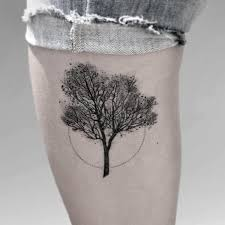 dotwork tree by luciano fabro