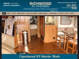 Rv Interiors Images Richwood Rv Interiors Rv Furniture Lakeside Ca