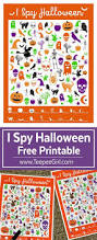 Free Printables For Halloween by Free I Spy Halloween Game Teepee