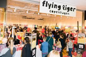 flying tiger store flying tiger copenhagen store opening in täby centrum petré pr