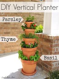 Potted Herb Garden Ideas 137 Best Creative Crafts Images On Pinterest Gardening Clay Pot