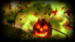 halloween fall wallpaper other lantern jack autumn halloween holiday horror plants skull