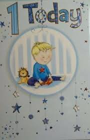 birthday cards one 1 year old baby boy greeting different good