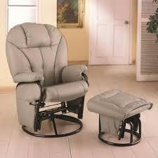 furniture grey nursery rocker double glider rocker nursery
