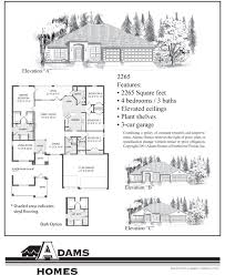 New Home Floor Plans And Prices North Port Adams Homes