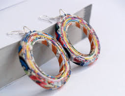 paper mache earrings 10 ways to re use waste paper