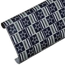 cowboy wrapping paper nfl dallas cowboys team gift wrap dallas cowboys