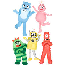 yo gabba gabba wall decorations birthdayexpress com