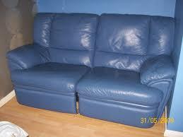 Home Decoration Sites Blue Leather Sofa Feedmymind Interiors Furnitures Ideas Fabulous