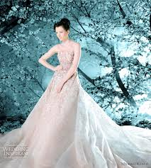 michael cinco blush strapless1 wedding gowns