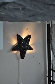 Ikea Branches Diy Idea Paint Ikea Kids Lamp Star Black Pageblanche11