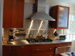 Pictures Of Stainless Steel Backsplashes by Kitchen How To Make The Most Of Stainless Steel Backsplashes