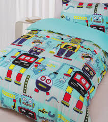 robot workshop quilt cover set robot bedding kids bedding dreams