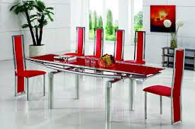 Extendable Dining Table And 4 Chairs Glass Dining Table And 4 Chairs Glass Dining Table Decorating