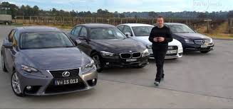 audi a4 comparison bmw 316i vs lexus is250 vs mercedes c200 vs audi a4
