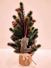 bestemorsimports norwegian pewter stocking ornament