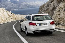 bagged mercedes wagon mercedes benz e63 amg gets new look and more power biser3a