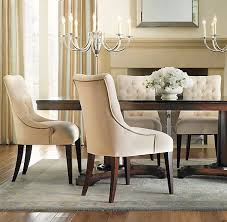 Top  Best Upholstered Dining Chairs Ideas On Pinterest - Cushioned dining room chairs