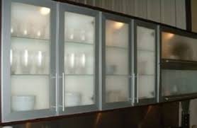 contemporary kitchen cabinets with glass doors awesome frosted