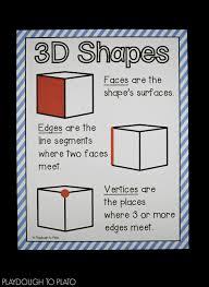 3d shape activities playdough to plato