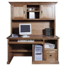 48 Desk With Hutch by Monarch Cappuccino 48 In Computer Desk With 2 Drawer Computer