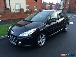 black peugeot for sale 2007 peugeot 307 sport hdi for sale in united kingdom