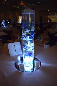 fascinating submersible led lights wedding centerpieces 13