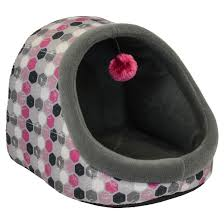 Hooded Dog Bed Dallas Hooded Cat Bed With Toy Pink 14 U0027 U0027 Target