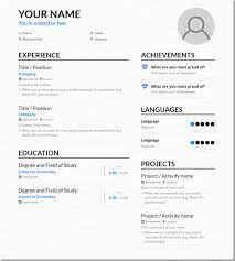 today s resume template 3 ways online resume makers can help you wow employers
