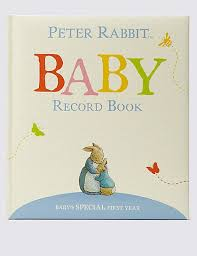 baby book rabbit baby record book m s