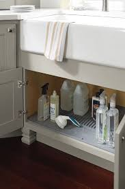 kitchen sink cabinet caddy sink base cleaning caddy homecrest cabinetry