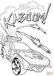 hotwheels coloring pages wheels kaboom coloring page free printable coloring pages