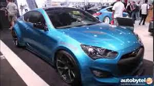 Hyundai Genesis Coupe Specs Jp Edition Hyundai Genesis Coupe Tuner Car Sema Youtube