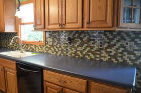 decoration fresh different types of countertops ideas with mosaic