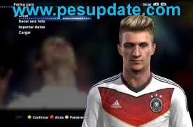 pes 2013 hairstyle pes 2013 new hair marco reus faces update 2015