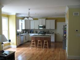 interior kitchen colors kitchen and living room colors popular trim to separate wall paint