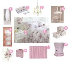 Girly Bedrooms Pink And White Shabby Chic Bedroom Decor Oh So - Girls shabby chic bedroom ideas