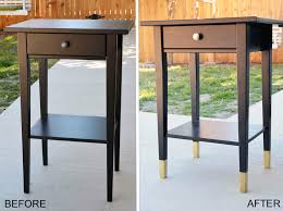 Ikea Hemnes Side Table I A Pair Of Matching Black Hemnes Side Tables From Ikea They