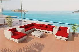 palm springs outdor wicker sectional sofa by viro wicker patio